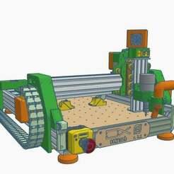 0.jpg Download free STL file CNC V7 Oozenest • 3D printing template, francescangelif