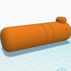 1.jpg Download STL file The simplest and practical pepper sprayer (22mm bottle) • 3D printable model, francescangelif