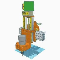 "1.jpg Download free STL file Z carriage for CNC_V10 ""Long Tall Sally"" • 3D printer template, francescangelif"