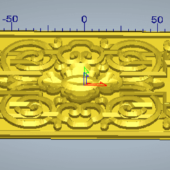 3d relief ornament.png Download STL file 3d relief ornament • Template to 3D print, 3drelieffiles