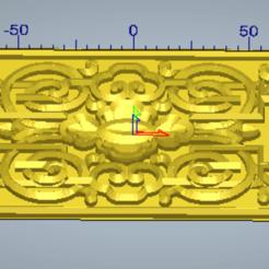 Download 3D print files 3d relief ornament, 3drelieffiles