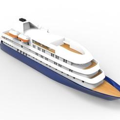 Cruise SHip.173.jpg Download STL file Island Sky Cruise Ship 3D print model • Template to 3D print, tayyabrafi