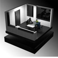 Descargar diseños 3D Batman interroga al Guasón, lllPGAlll