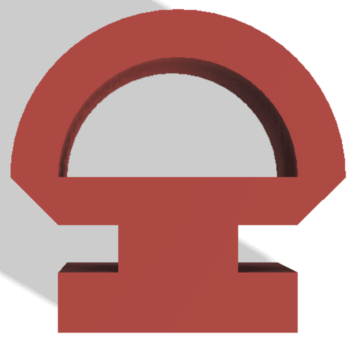 Screenshot 2020-06-29 at 14.50.42.png Télécharger fichier STL gratuit Crochet pour rail de rideau • Plan pour imprimante 3D, Polymorph