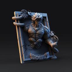 untitled.1266.jpg Download STL file Frame 2 dragon ball • 3D printable model, cesarin42