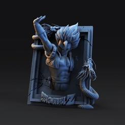 untitled.1264.jpg Download STL file Frame 4 dragon ball • 3D print design, cesarin42