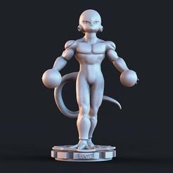 dbz.1236.jpg Télécharger fichier STL Frezzer5 Dragon Ball • Modèle à imprimer en 3D, cesarin42