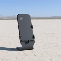 Stojak_2020-Jun-24_11-27-52PM-000_CustomizedView26012672638.png Download STL file Iphone 7 phone stand 6 8 !free-customization! • 3D printer design, PosolonaMelasa
