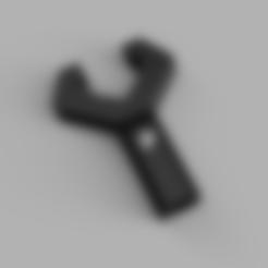 Download 3D printer designs g&g tr16 mbr308 barrel nut wrench key front airsoft, PosolonaMelasa