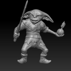 capo.jpg Download STL file Goblins Bomb Kill Team 5 models • 3D printer design, Horribleminiatures