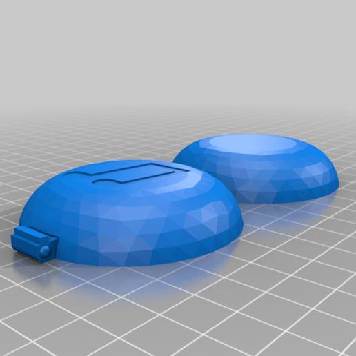 earphone_case_thin.png Download free STL file Print-In-Place Earphone Case • 3D print design, silorak10