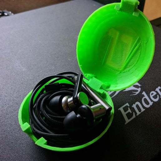 IMG_20200623_211708.jpg Download free STL file Print-In-Place Earphone Case • 3D print design, silorak10