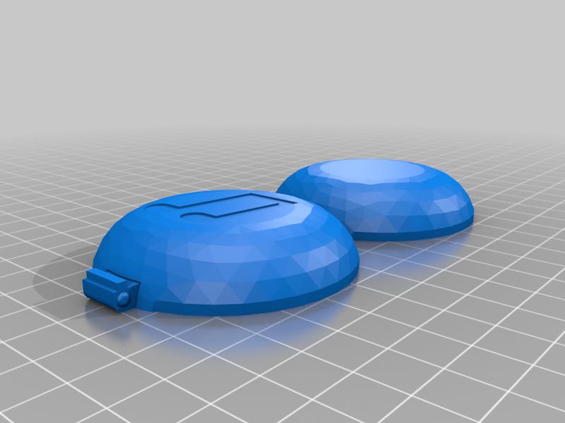 earphone_case.png Download free STL file Print-In-Place Earphone Case • 3D print design, silorak10
