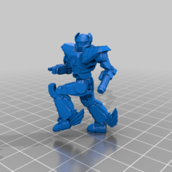 Her-2M-strafe.png Download free STL file 6mm Mech Hermes II (2M) • 3D printing design, Cato_Zilks