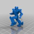 Download free 3D printer templates 6mm Mech Hermes II (2M), Cato_Zilks