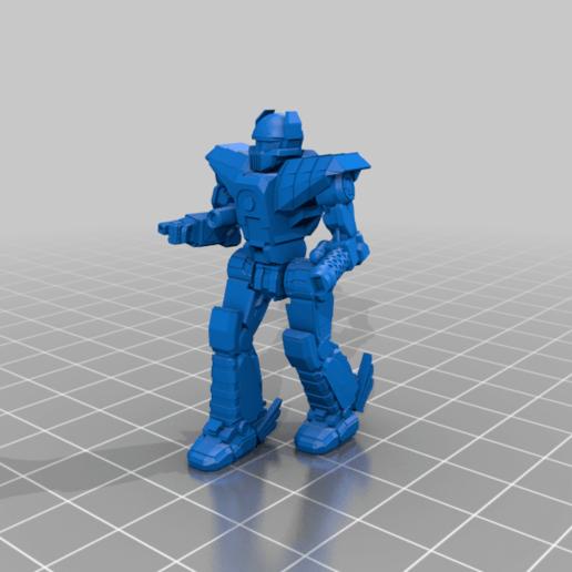 Download free 3D printing models 6mm Mech Hermes II (5Sr), Cato_Zilks