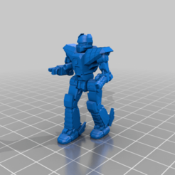 Her-5Sr-patrol.png Download free STL file 6mm Mech Hermes II (5Sr) • 3D print template, Cato_Zilks
