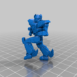 Download free 3D printer templates 6mm Mech Hermes II (4K), Cato_Zilks