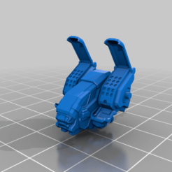 archer_5Sf_torso_twi.png Download free STL file Archer 5S • 3D print design, Cato_Zilks