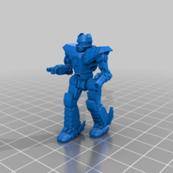 Her-5SA-patrolling.png Download free STL file 6mm Mech Hermes II (5SA) • 3D printer model, Cato_Zilks