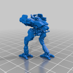 LOCUST_LCT-3M_walk.png Download free STL file 6mm mech named after a swarming insect (3M) • 3D print model, Cato_Zilks