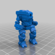 Download free STL 6mm mech named after bulbous backed people (4G & 4H), Cato_Zilks