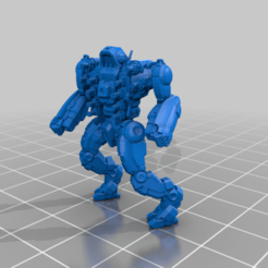 Piranha_1_alt.png Download free STL file 6mm mech named after a meat eating fish (1) • 3D printer object, Cato_Zilks