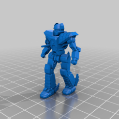 HER-5ME-patrol.png Download free STL file 6mm Mech Hermes II (5ME) • Object to 3D print, Cato_Zilks