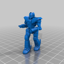 Her-2S-patrol.png Download free STL file 6mm Mech Hermes II (2S) • 3D printable template, Cato_Zilks