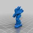 Download free 3D printer templates 6mm mech named after a speedy Greek God (4M), Cato_Zilks