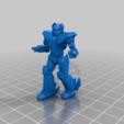 Télécharger fichier STL gratuit Mech Hermes II 6mm (2S) • Plan pour imprimante 3D, Cato_Zilks