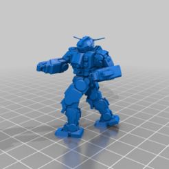 QKD-5Cr-Patrol.png Download free STL file 6mm mechs named after fast gunslingers (bunches of variants) • Model to 3D print, Cato_Zilks