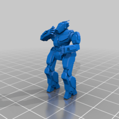 STG-6L_cantseeme_ant.png Download free STL file 6mm mech named after the pointy thing on a bee (6L) • 3D print object, Cato_Zilks