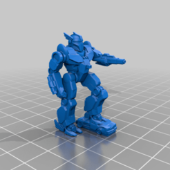Her_4S_FULL_aim_alt.png Download free STL file 6mm mech named after a speedy Greek God (4S) • 3D printing design, Cato_Zilks