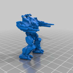 RFL-7M_Fire.png Download free STL file 6mm mech named after a man holding a rifle (7M) • Template to 3D print, Cato_Zilks