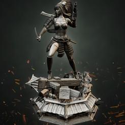 P1_Final2.jpg Download STL file Stormtrooper Samurai • 3D printer design, Aliance