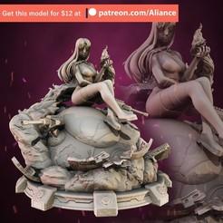 11.jpg Download STL file Starfire - TeenTitans • Model to 3D print, Aliance