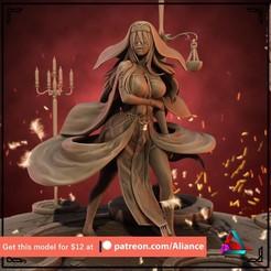 sword maiden5.jpg Télécharger fichier STL Sword Maiden - Tueur de gobelins • Plan à imprimer en 3D, Aliance