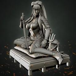 P12_Final2.jpg Download STL file Stormtrooper Samurai Sexy Pose • 3D printing model, Aliance