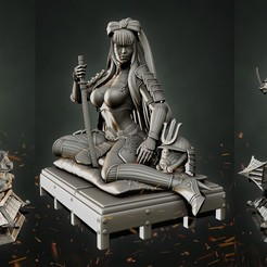 Untitled-1.jpg Download STL file Stormtrooper Samurai 2 in 1 • 3D printer object, Aliance