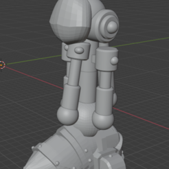 bionic leg 2.0.PNG Download free STL file Primary Space Pegleg • 3D printing template, ryanpowell90