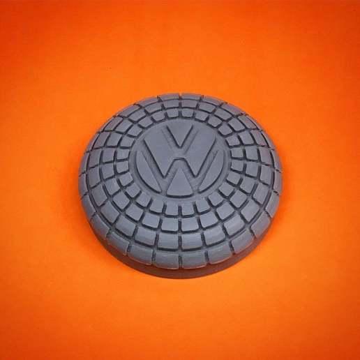 Télécharger fichier STL gratuit Bouton du klaxon de la coccinelle Volkswagen (1960-1971) • Design pour imprimante 3D, ehans1c