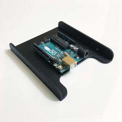 "Download free STL file 3.5"" Drive Bay Arduino Uno Mount, ehans1c"