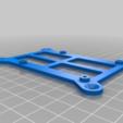 Télécharger fichier STL gratuit Support mural pour les Pi à la framboise • Plan pour imprimante 3D, ehans1c