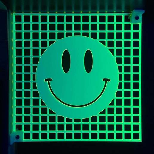 Download free STL file Smiley Face Sign • Object to 3D print, ehans1c