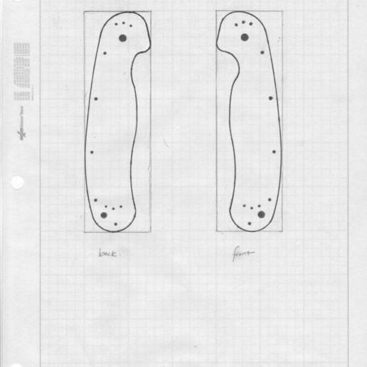 Knife_Profile_-_Inked.jpg Télécharger fichier STL gratuit Balance Ontario Knife (ON8838 Rat-1) • Objet pour imprimante 3D, ehans1c