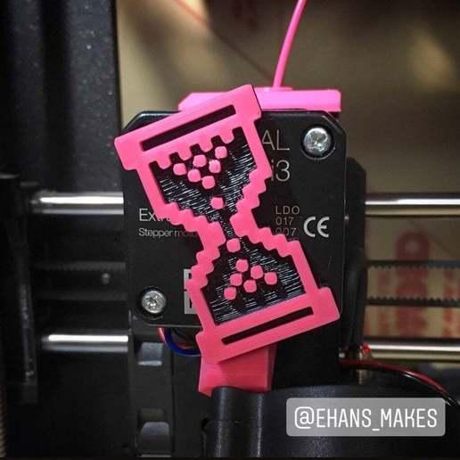 Télécharger fichier 3D gratuit Visualiseur d'extrudeuse avec curseur en sablier, ehans1c