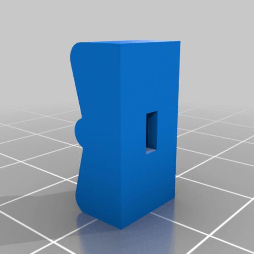 Casio_Keyboard_Switch.png Download free STL file Casio Keyboard Switch Cover • 3D print design, ehans1c