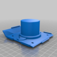 Download free STL file Mycelium Speaker Mold • 3D printing template, ehans1c