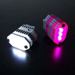 Télécharger fichier STL gratuit Lumière modulaire pour vélos • Modèle pour imprimante 3D, ehans1c